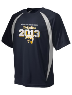 Napa Valley Language Center Dolphins Champion Men's Double Dry Elevation T-Shirt