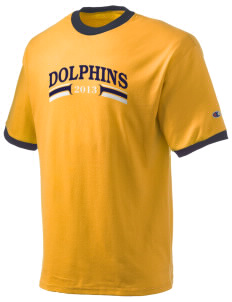 Napa Valley Language Center Dolphins Champion Men's Ringer T-Shirt