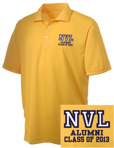 Napa Valley Language Center Dolphins Embroidered Men's Double Mesh Polo