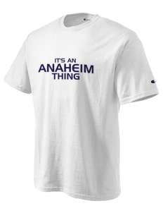 Anaheim High School Colonists Champion Men's Tagless T-Shirt