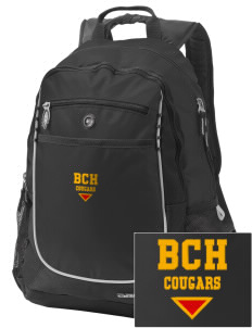Brea Country Hills Elementary School Cougars Embroidered OGIO Carbon Backpack