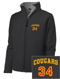 Brea Country Hills Elementary School Cougars Embroidered Women's Soft Shell Jacket