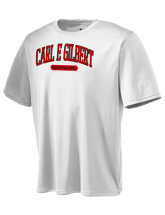 Carl E Gilbert Elementary School Grizzlies Champion Men's Wicking T-Shirt