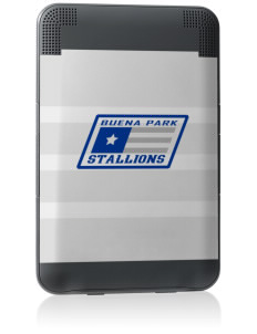 Buena Park Junior High School Stallions Kindle Keyboard 3G Skin