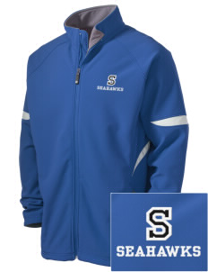 Shorecliffs Middle School Seahawks Holloway Embroidered Men's Radius Zip Front Jacket