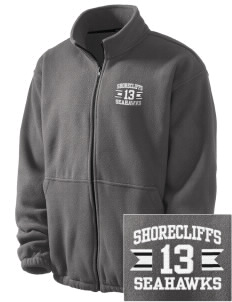Shorecliffs Middle School Seahawks Embroidered Men's Fleece Jacket