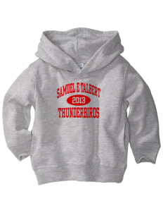 Samuel E Talbert Middle School Thunderbirds  Toddler Fleece Hooded Sweatshirt with Pockets