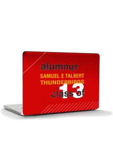 "Samuel E Talbert Middle School Thunderbirds Apple MacBook Pro 17"" & PowerBook 17"" Skin"