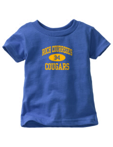 Roch Courreges Elementary School Cougars  Toddler Jersey T-Shirt