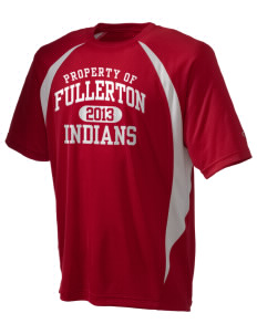 Fullerton High School Indians Champion Men's Double Dry Elevation T-Shirt