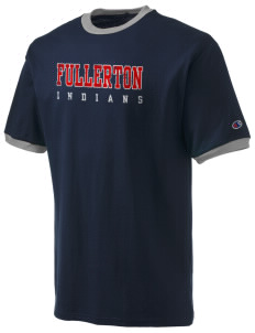 Fullerton High School Indians Champion Men's Ringer T-Shirt