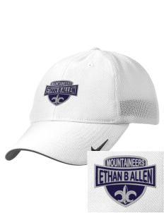 Ethan B Allen Elementary School Mountaineers Embroidered Nike Golf Mesh Back Cap