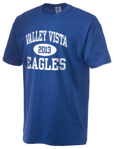 Valley Vista High School Eagles  Russell Men's NuBlend T-Shirt