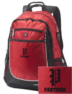 Tustin Adult School Panthers Embroidered OGIO Carbon Backpack