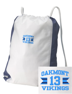 Oakmont High School Vikings Embroidered Holloway Home and Away Cinch Bag