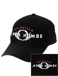Roseville High School Tigers Embroidered Low-Profile Cap