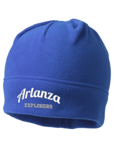 Arlanza Elementary School Explorers Embroidered Fleece Beanie