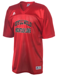Idyllwild School Mountain Lions  Russell Men's Replica Football Jersey