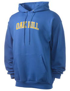 Oak Hill Elementary School Owls Men's 7.8 oz Lightweight Hooded Sweatshirt