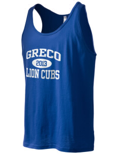Greco Middle School Lion Cubs Men's Jersey Tank