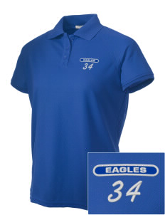 College of Southern Nevada High School Eagles Embroidered Women's Technical Performance Polo