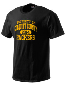 Colquitt County High School Packers Hanes Beefy Tagless Men's T-Shirt