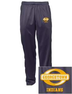 Georgetown Elementary School Indians Embroidered Men's Tricot Track Pants