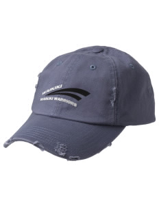 Waikiki Elementary School Waikiki Warriors Embroidered Distressed Cap