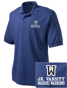 Waikiki Elementary School Waikiki Warriors Embroidered Tall Men's Silk Touch Polo