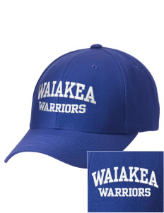 Waiakea High School Warriors Embroidered Wool Adjustable Cap