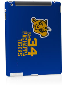 Pachappa Elementary School Tigers Apple iPad 2 Skin