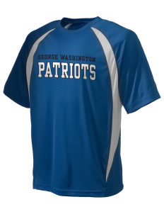 George Washington Elementary School Patriots Champion Men's Double Dry Elevation T-Shirt