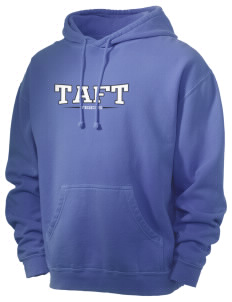 Taft Elementary School Tigers Men's 80/20 Pigment Dyed Hooded Sweatshirt