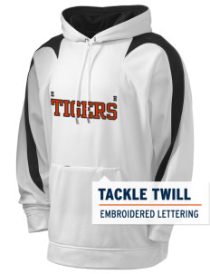 Edward Hyatt Elementary School Tigers Holloway Men's Sports Fleece Hooded Sweatshirt with Tackle Twill