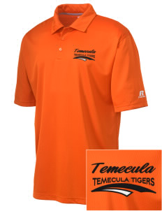 Temecula Elementary School Temecula Tigers Embroidered Russell Coaches Core Polo Shirt