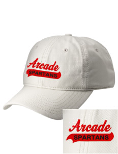 Arcade Middle School Spartans  Embroidered New Era Adjustable Unstructured Cap