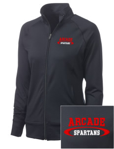 Arcade Middle School Spartans Women's NRG Fitness Jacket