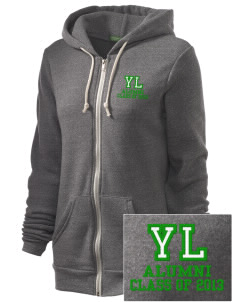 Yucca Loma Elementary School Bullfrogs Embroidered Alternative Unisex The Rocky Eco-Fleece Hooded Sweatshirt