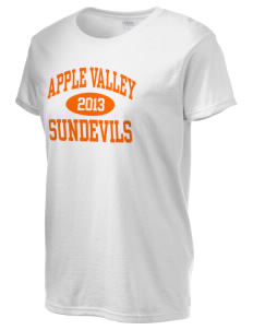 Apple Valley High School Sundevils Women's 6.1 oz Ultra Cotton T-Shirt