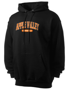 Apple Valley High School Sundevils Men's 7.8 oz Lightweight Hooded Sweatshirt