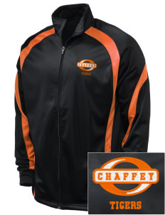 Chaffey High School Tigers Embroidered Holloway Men's Tricotex Warm Up Jacket