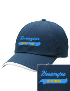 Bloomington High School Bruins Embroidered Nike Dri-FIT Swoosh Perforated Cap