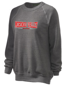 Morongo Valley Elementary School Mustangs Unisex Alternative Eco-Fleece Raglan Sweatshirt