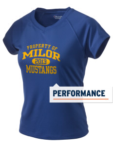 Milor Continuation Senior High School Mustangs Champion Women's Wicking T-Shirt