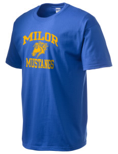Milor Continuation Senior High School Mustangs Ultra Cotton T-Shirt