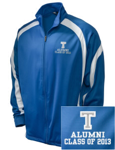 Trona Elementary School Tornadoes Embroidered Holloway Men's Tricotex Warm Up Jacket