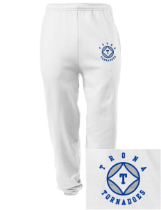 Trona Elementary School Tornadoes Embroidered Men's Sweatpants with Pockets