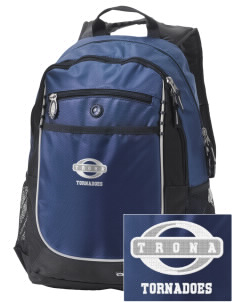 Trona High School Tornadoes Embroidered OGIO Carbon Backpack