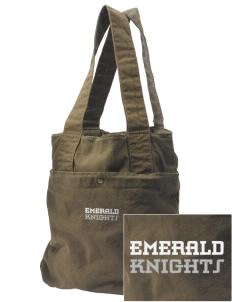 Emerald Middle School Knights Embroidered Alternative The Berkeley Tote