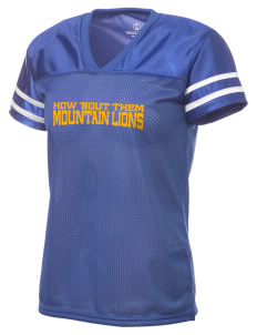 Meridian Elementary School Mountain Lions Holloway Women's Fame Replica Jersey